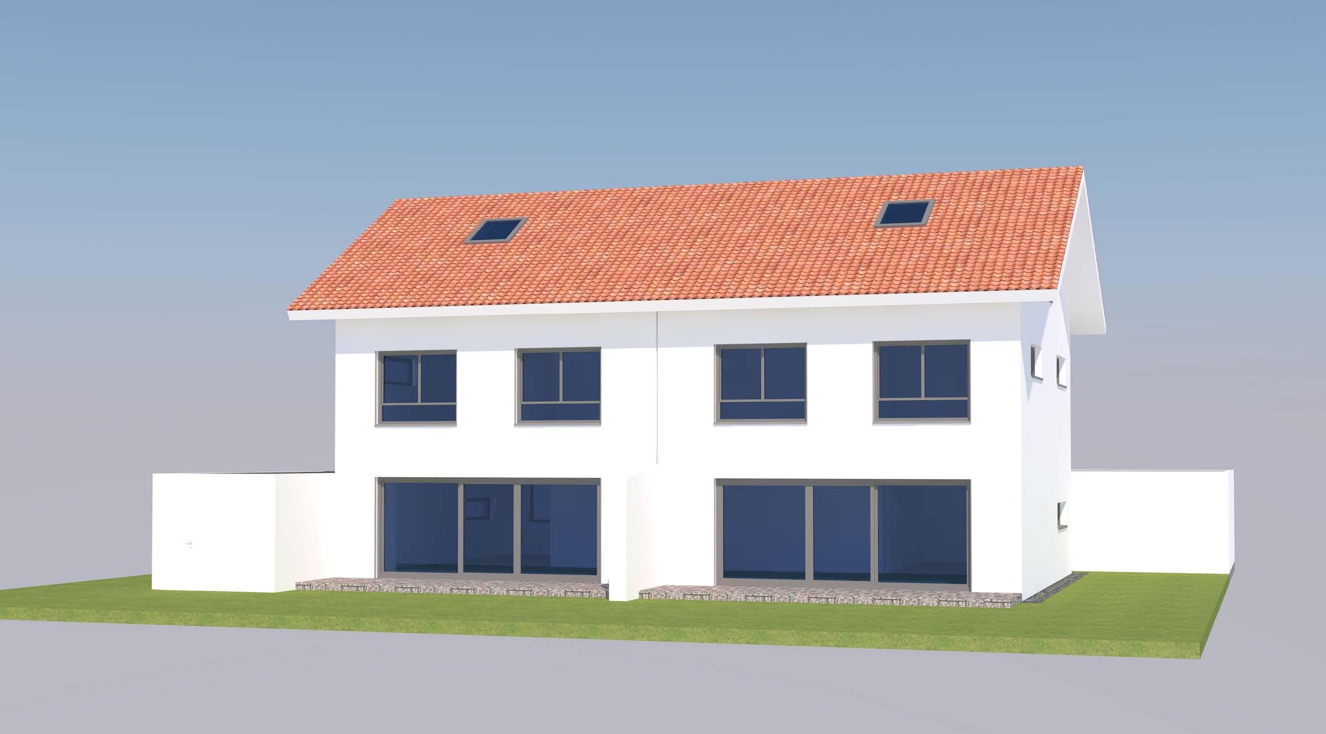 2 Doppelhaushälften mit Garage (W027) in Osterhofen – Am Wasserturm