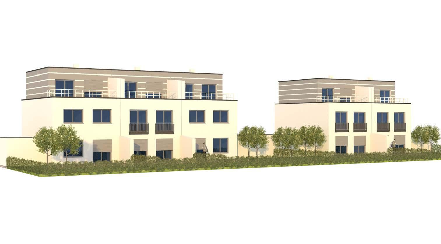 Doppelhäuser und Reihenhäuser mit Garage (W023) in Straubing-Stutzwinkel