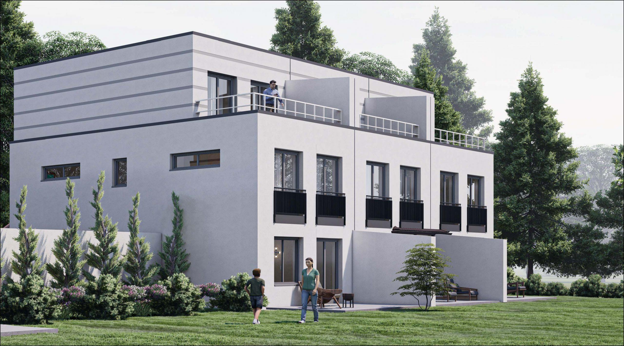 Dreispänner 2. BA mit Garage (W023-2) in Straubing-Stutzwinkel